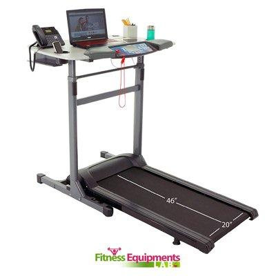 Exerpeutic 5000 ExerWork Wide Belt Desk Treadmill